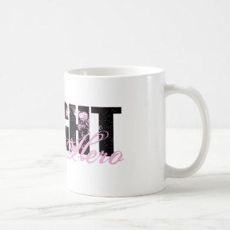 Wife Hero - Fight Breast Cancer Basic White Mug
