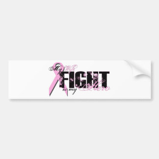 Wife Hero - Fight Breast Cancer Bumper Stickers