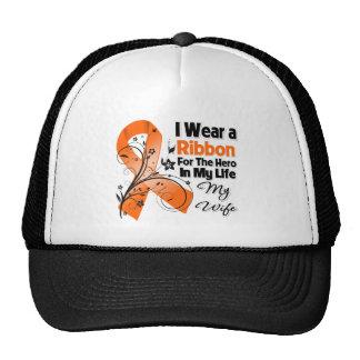 Wife Hero in My Life Leukemia Cap