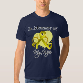 Wife - In Memory of Military Tribute Tee Shirts