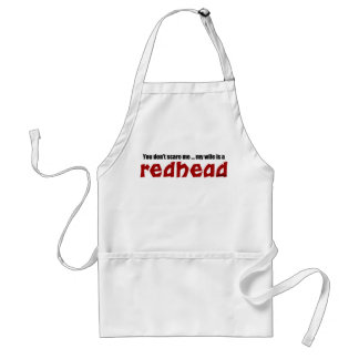 Wife is a Redhead Standard Apron