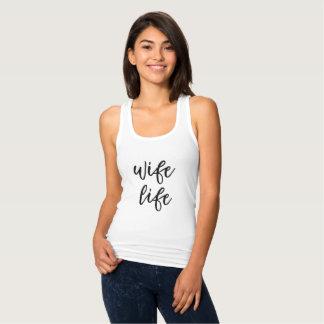 WIFE LIFE Wedding Tshirt Tanktop Bride Gifts