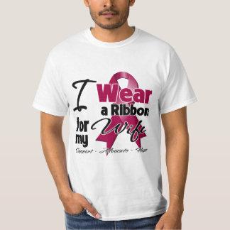 Wife - Multiple Myeloma Ribbon Tshirt