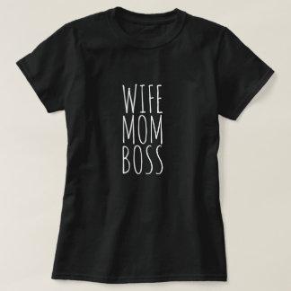 Wife Mum Boss T-Shirt