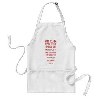 Wife To Be Standard Apron