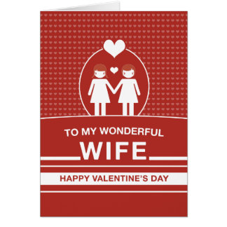 Wife Valentine's Day Card