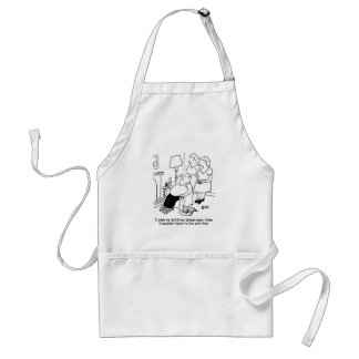 Wife wishes her husband was her dream man standard apron