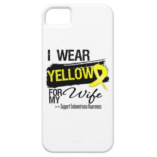 Wife Yellow Ribbon Endometriosis iPhone 5 Cover