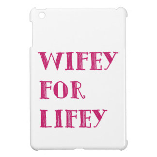 wifey iPad mini cover