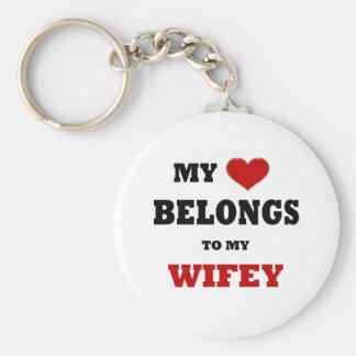 Wifey Key Ring