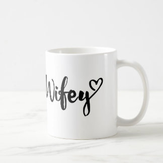 wifey mug, personalized wifey mug, couple mug, coffee mug