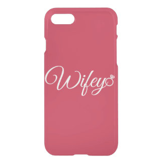 Wifey ring iPhone 7 case