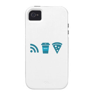 Wifi-Coffee-Pizza Case For The iPhone 4