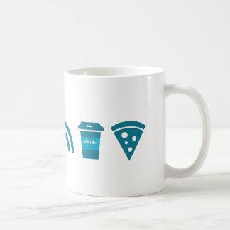 Wifi-Coffee-Pizza Coffee Mug