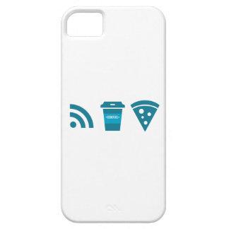 Wifi-Coffee-Pizza iPhone 5 Case