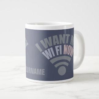 WiFi custom mugs