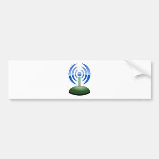 Wifi Logo Bumper Sticker