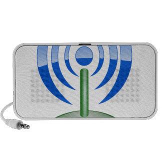 Wifi Logo Portable Speakers