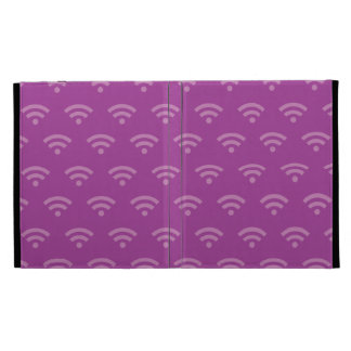 Wifi magentas iPad folio cover