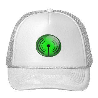 WiFi Symbol Mesh Hat