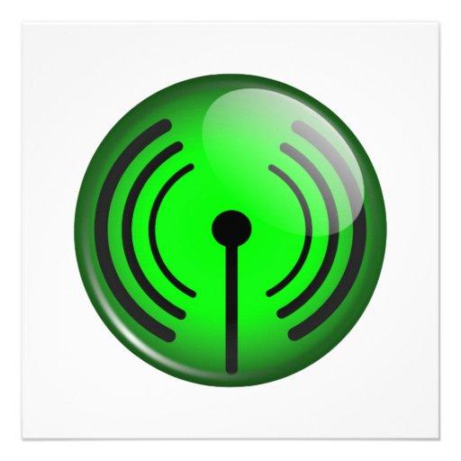WiFi Symbol Invite