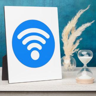 Wifi Symbol Plaque