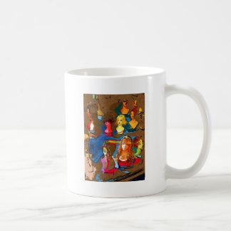 Wig Shop Coffee Mugs