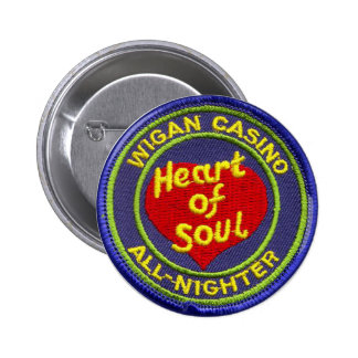 Wigan Casino All-Nighter 6 Cm Round Badge