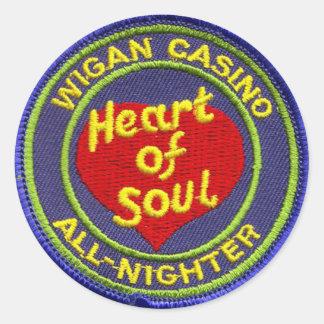 Wigan Casino All-Nighter Classic Round Sticker