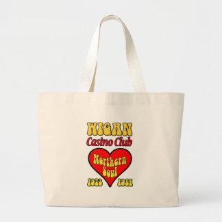 Wigan Casino Club Northern Soul Tote Bags