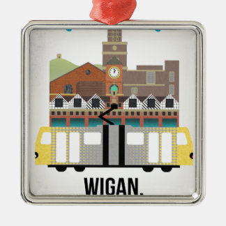 Wigan Christmas Ornament