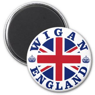 Wigan Vintage UK Design Fridge Magnets