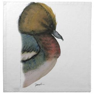 wigeon duck, tony fernandes napkin
