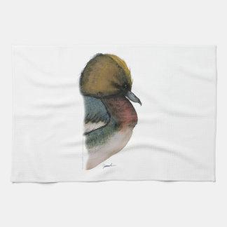 wigeon duck, tony fernandes tea towel