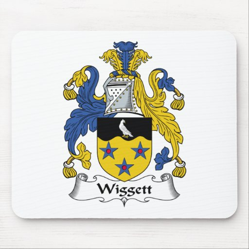 Wiggett Family Crest Mouse Pad