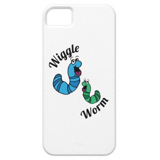 Wiggle Worm iPhone 5 Case