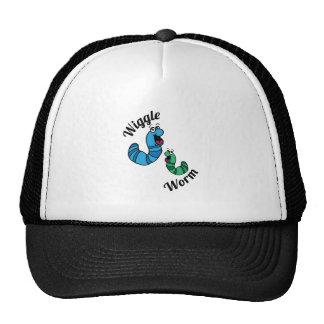 Wiggle Worm Trucker Hats