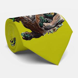 WII bulldog dog soldier Sgt. Rover Tie