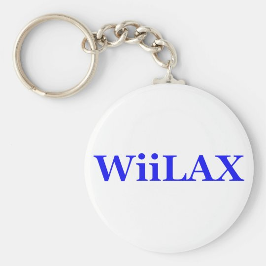 Wiilax Basic Round Button Key Ring