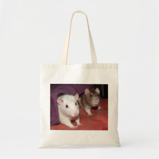 Wiki and Arthur rats Budget Tote Bag