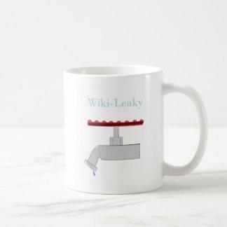 Wiki Leaky Basic White Mug