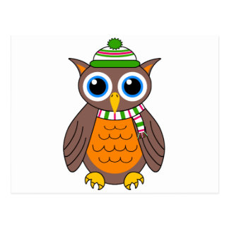 Wilbert the Owl Postcard