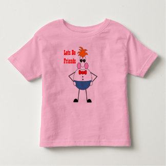 Wilbur Bug Eyes Lets Be Friends T-Shirt