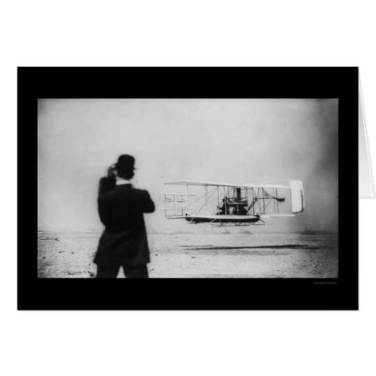 Wilbur Wright Aeroplane Flight 1909 Card