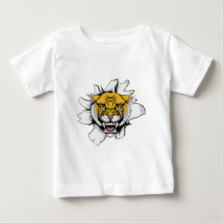 Wilcat Cougar Ripping Out Baby T-Shirt