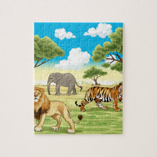 Wild 8x10 Photo Puzzle with Gift Box