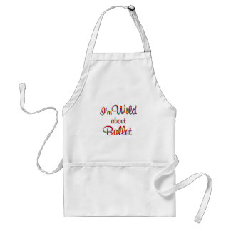 Wild About Ballet Aprons
