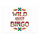 Wild About Bingo Post Cards