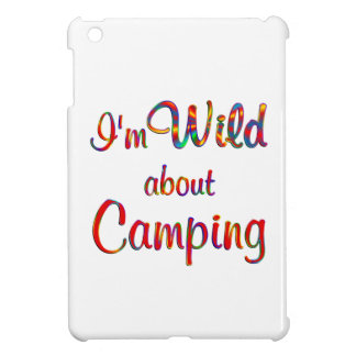Wild About Camping iPad Mini Cases