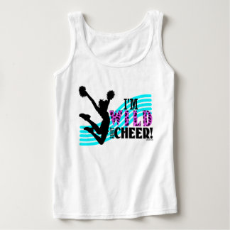 Wild About Cheer Basic Tank Top